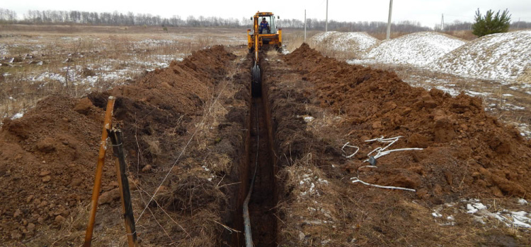 20 апреля 2015. Начато строительство центрального водопровода
