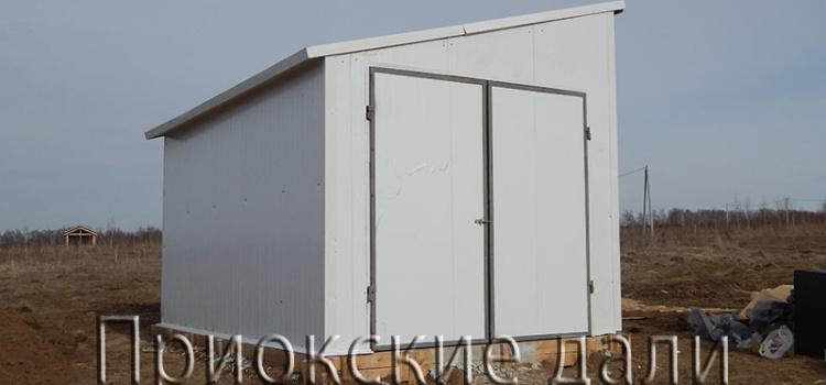 Закончено строительство здания ВЗУ (водозаборного узла)