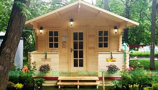 Садовый домик в подарок при покупке участка до 2 мая!