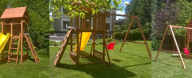 Детская площадка в подарок — Акция до 10 сентября!