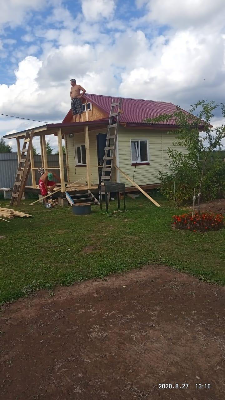 Строительство на участках СНТ Приокские дали